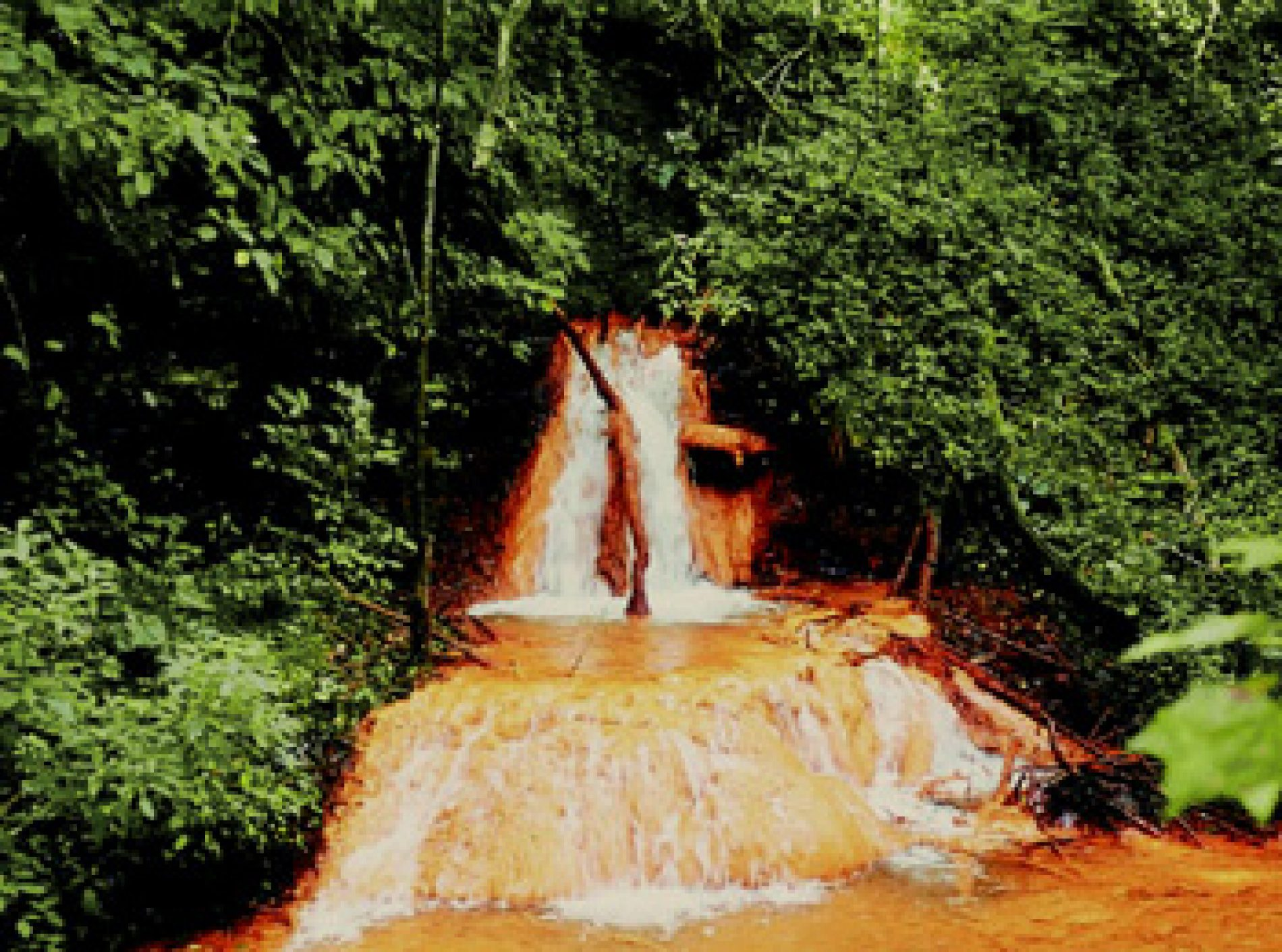 Rivers of acid' in Zambian villages
