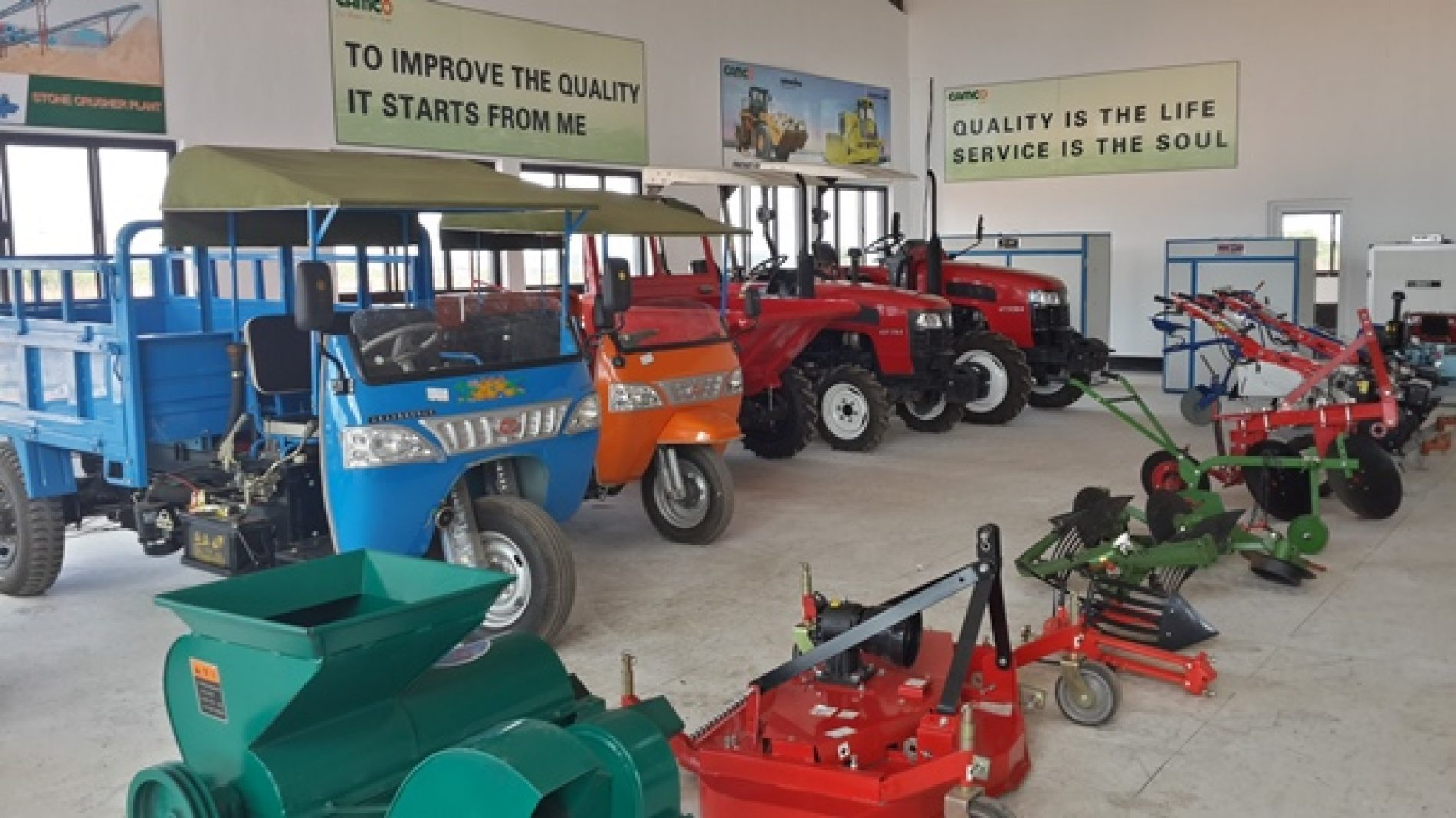 CAMCO drive mechanised farming agenda