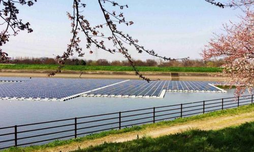 Africa's first floating solar system installed