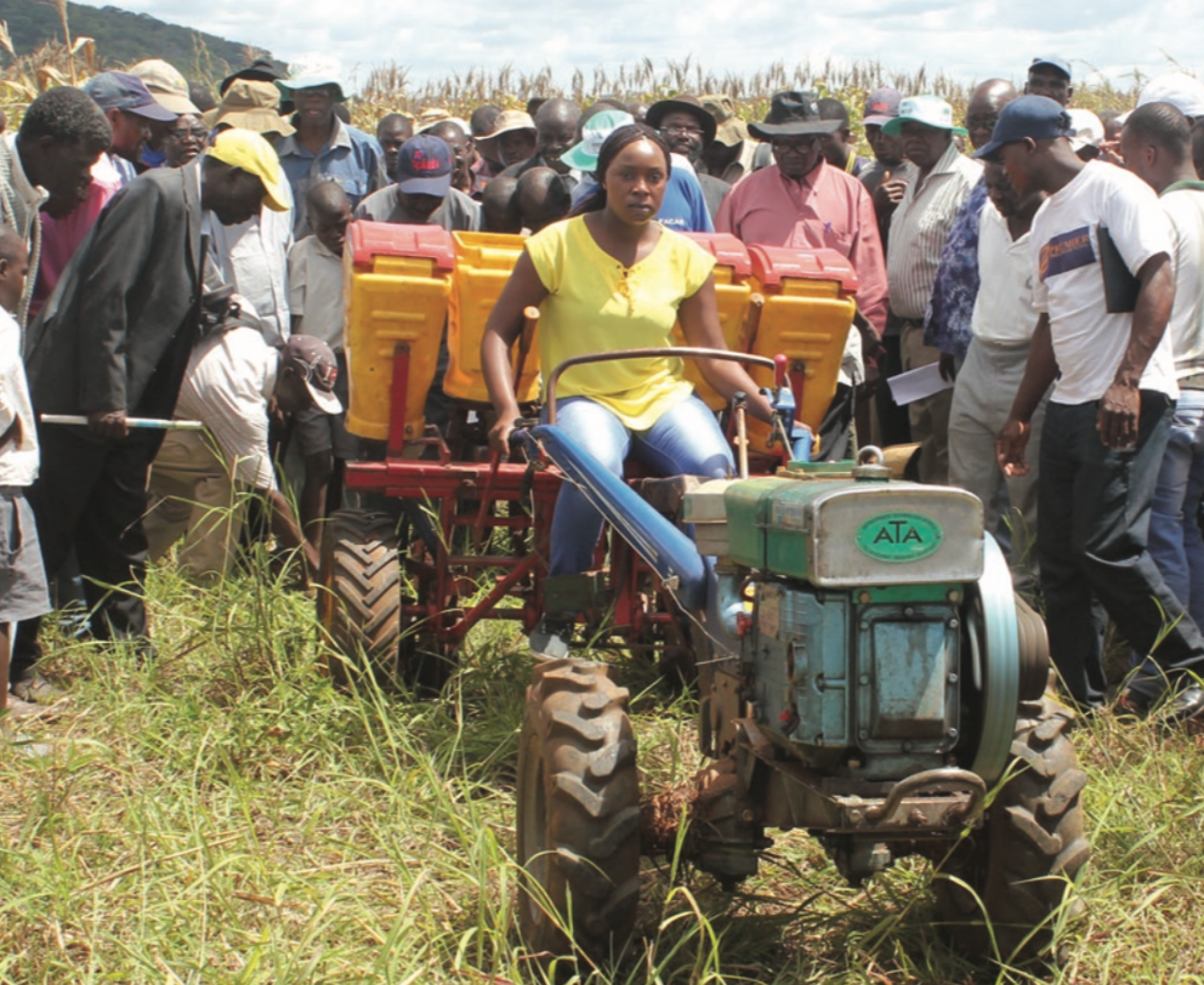Mumbwa Farmers skillfully equipped