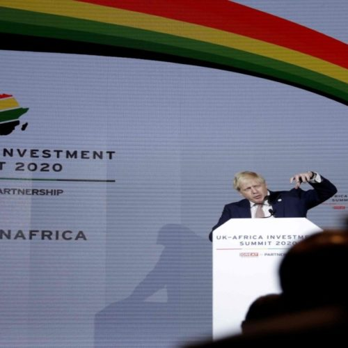 Revitalizing economic ties top of agenda at the UK-Africa summit